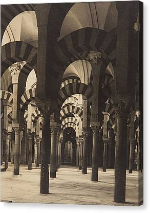Grand Mosque Cordoba Canvas Print by Claudi Carbonell