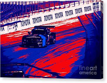 Grand Prix Stylin Canvas Print by RJ Aguilar