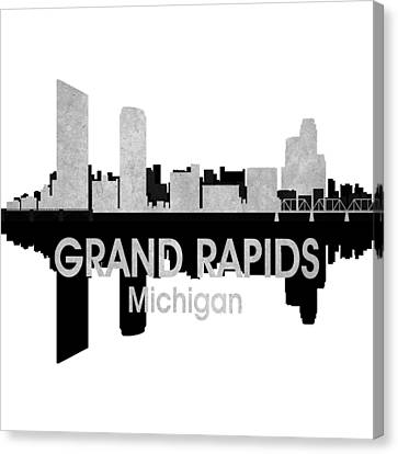 Grand Rapids Mi 4 Squared Canvas Print