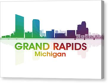 Grand Rapids Mi Canvas Print