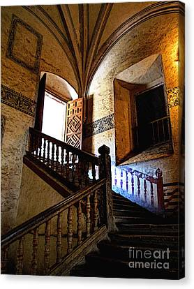 Grand Staircase 2 Canvas Print by Mexicolors Art Photography