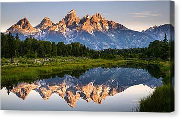 Grand Teton Awakening Canvas Print