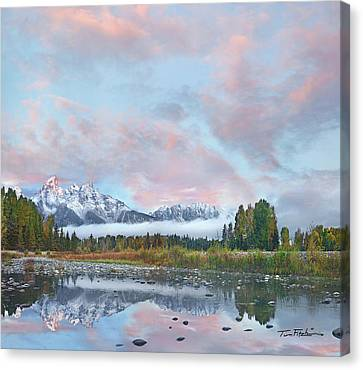 Grand Teton National Park, Wyoming Canvas Print