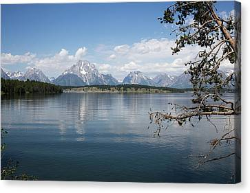 Grand Teton Range Canvas Print