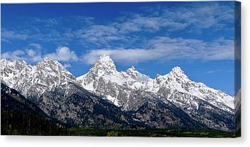 Grand Teton Rising Canvas Print