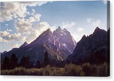 Grand Teton Canvas Print by Scott Norris