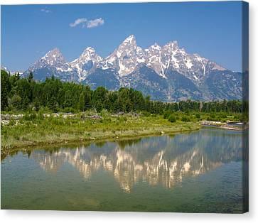 Grand Teton View Canvas Print