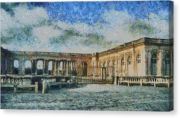 Chateau Canvas Print - Grand Trianon by Aaron Stokes