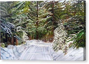 Grand View Drive Canvas Print