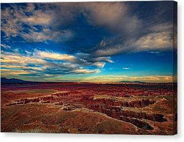 Grand View Point Canvas Print