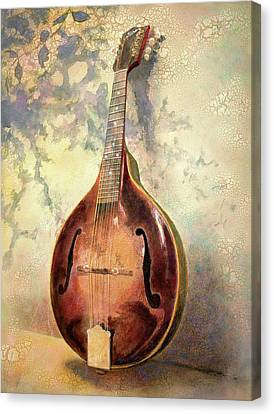 Grandaddy's Mandolin Canvas Print