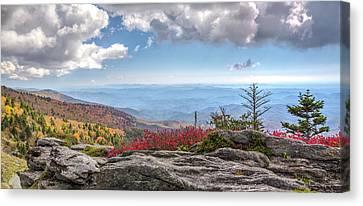 Grandfather Mountain Panorama 02 Canvas Print