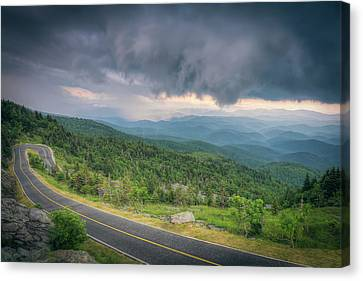 Grandfather Mountain Storm Canvas Print