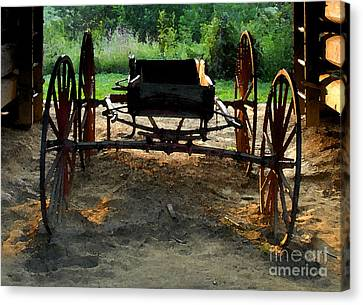 Grandfathers Buggy Canvas Print by David Lee Thompson