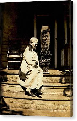 Canvas Print featuring the photograph Grandma Jennie by Paul W Faust - Impressions of Light