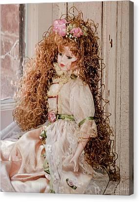 Grandma's Doll Canvas Print by Steph Gabler