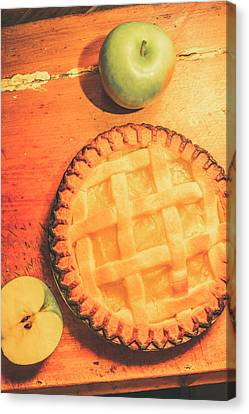 Grandmas Homemade Apple Tart Canvas Print by Jorgo Photography - Wall Art Gallery