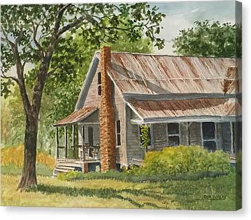 Grandma's House Canvas Print by Don Bosley