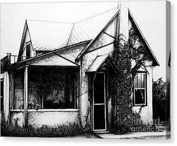 Grandma's House Canvas Print by Donna Newsom