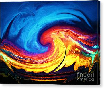 Grandmother Tiamat Canvas Print