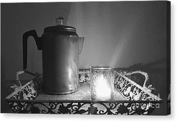 Grandmothers Vintage Coffee Pot Canvas Print