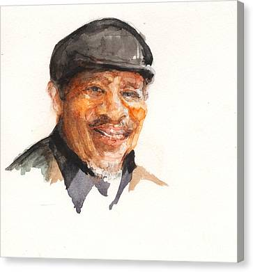 Grandpa John Perkins Canvas Print