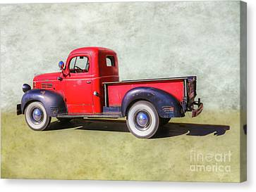Grandpa's Dodge Truck Canvas Print