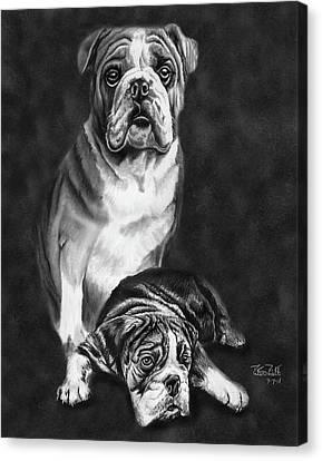 Grandson Of Sampson Canvas Print by Peter Piatt