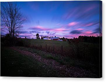 Grandview Farm Sunset Canvas Print