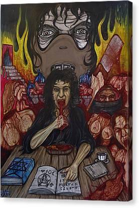 Grannibal Lecter - Tamara Samsanova Canvas Print