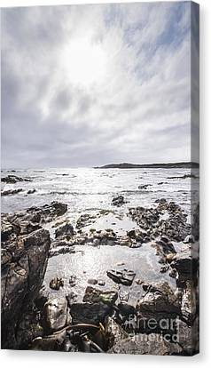 Granville Harbour Seascape Canvas Print by Jorgo Photography - Wall Art Gallery