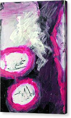 Grape Fizzies Canvas Print by Shelley Graham Turner
