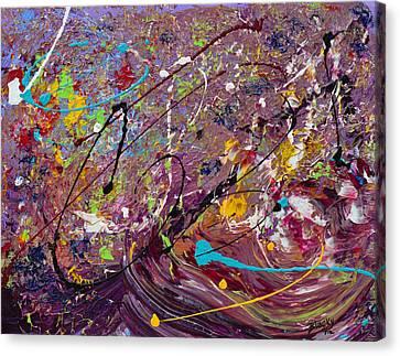 Grape Stomp Canvas Print
