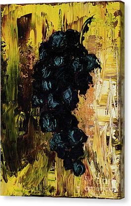 Concord Grapes Canvas Print - Grapes by Jodi Monahan