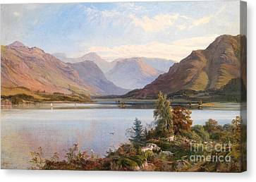 Rural Landscapes Canvas Print - Grasmere by Henry Moore