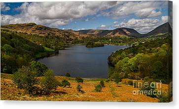 Grasmere In Spring Canvas Print by John Collier