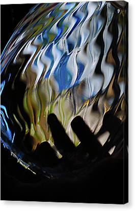 Canvas Print featuring the photograph Grasping At Curves by Susan Capuano