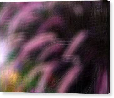 Grasses Canvas Print by Eileen Shahbazian