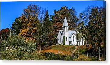Grassy Creek Methodist Church Canvas Print