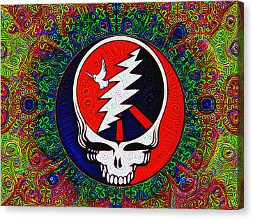 Dye Canvas Print - Grateful Dead by Bill Cannon