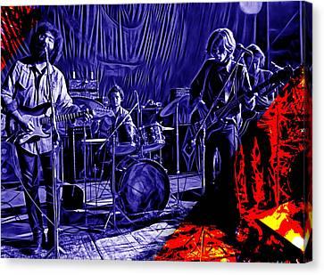 Grateful Dead Collection Canvas Print by Marvin Blaine