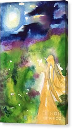 Gratitude Canvas Print by Julie Engelhardt