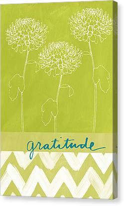 Gratitude Canvas Print by Linda Woods
