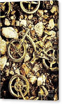 Terrain Canvas Print - Gravel Bikes by Jorgo Photography - Wall Art Gallery