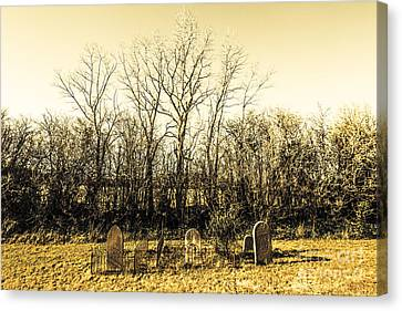 Graves From Past Lives Canvas Print by Jorgo Photography - Wall Art Gallery