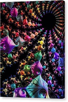 Gravitational Pull Canvas Print by Kathy Kelly