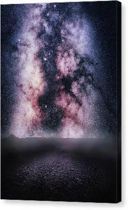 Gravity Canvas Print by Matt Smith