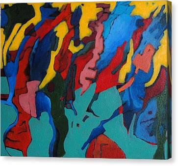 Gravity Prevails Canvas Print by Bernard Goodman