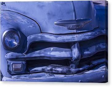 Jalopy Canvas Print - Gray Chevrolet by Garry Gay
