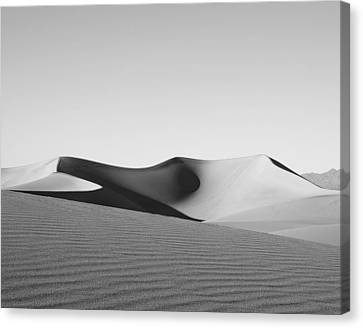 Gray Canvas Print by Mike Irwin